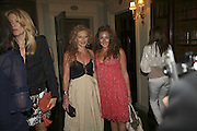 Kelly Hoppen and Natasha Corrett, Tatler Summer party ( in association with Fendi) Home House, Portman Sq. 29 June 2006. ONE TIME USE ONLY - DO NOT ARCHIVE  © Copyright Photograph by Dafydd Jones 66 Stockwell Park Rd. London SW9 0DA Tel 020 7733 0108 www.dafjones.com