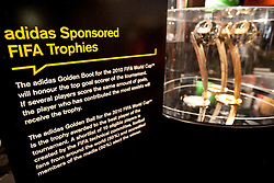 Adidas Golden Ball trophy for best player of FIFA World Cup 2010 tournament on July 1, 2010 at the adidas Jo'bulani Centre in Sandton Convention Centre in Johannesburg. (Photo by Vid Ponikvar / Sportida)
