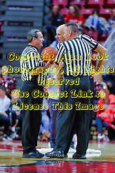 NORMAL, IL - November 03: Tom O'Neill Jr., Scott Tierney and Ford Branch Jr. during a college basketball game between the ISU Redbirds  and the Augustana Vikings on November 03 2018 at Redbird Arena in Normal, IL. (Photo by Alan Look)