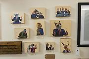 Animal heads drawings - Maker House Co., 987 Wellington St. W., Ottawa