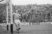 Goal keeper in goal during the All Ireland Senior Hurling Final - Kilkenny v Galway, Kilkenny 2-12, Galway 1-8, 2nd September 1979.
