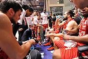 DESCRIZIONE : Sassari Lega Serie A 2014/15 Beko Supercoppa 2014 Finale Olimpia EA7 Emporio Armani Milano - Dinamo Banco di Sardegna Sassari<br /> GIOCATORE : Luca Banchi<br /> CATEGORIA : Allenatore Coach Time Out<br /> SQUADRA :  Olimpia EA7 Emporio Armani Milano<br /> EVENTO :  Beko Supercoppa 2014 <br /> GARA : Olimpia EA7 Emporio Armani Milano - Dinamo Banco di Sardegna Sassari<br /> DATA : 05/10/2014 <br /> SPORT : Pallacanestro <br /> AUTORE : Agenzia Ciamillo-Castoria/ Luigi Canu<br /> Galleria : Lega Basket A 2014-2015 <br /> Fotonotizia : Sassari Lega Serie A 2014/15 Beko Supercoppa 2014 Finale Olimpia EA7 Emporio Armani Milano - Dinamo Banco di Sardegna Sassari<br /> Predefinita :