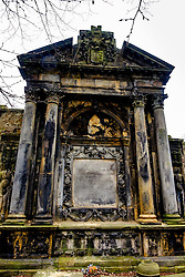 A tomb in Grey Friars church yard in Edinburgh, Scotland<br /> <br /> (c) Andrew Wilson | Edinburgh Elite media