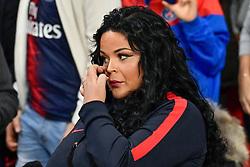 October 7, 2018 - Paris, Ile-de-France, France - Sarah Fraisou  attends the French L1 football match between Paris Saint-Germain (PSG) and Olympique de Lyon (OL) on October 7, 2018 at the Parc des Princes stadium in Paris. (Credit Image: © Julien Mattia/NurPhoto/ZUMA Press)