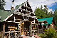 Cooper Landing Historical Society And Museum in Cooper Landing, Alaska, USA<br /> <br /> Photographer: Christina Sjögren<br /> <br /> Copyright 2019, All Rights Reserved
