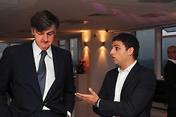 Left to right, ROBIN BIRLEY and JAMIE REUBEN at The Reuben Foundation and Virgin Unite Haiti Fundraising dinner held at Altitude 360 in Millbank Tower, London on 26th May 2010.