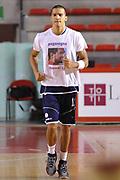 DESCRIZIONE : Roma LNP A2 2015-16 Acea Virtus Roma Assigeco Casalpusterlengo<br /> GIOCATORE : Daniele Sandri<br /> CATEGORIA : pre game riscaldamento<br /> SQUADRA : Assigeco Casalpusterlengo<br /> EVENTO : Campionato LNP A2 2015-2016<br /> GARA : Acea Virtus Roma Assigeco Casalpusterlengo<br /> DATA : 01/11/2015<br /> SPORT : Pallacanestro <br /> AUTORE : Agenzia Ciamillo-Castoria/G.Masi<br /> Galleria : LNP A2 2015-2016<br /> Fotonotizia : Roma LNP A2 2015-16 Acea Virtus Roma Assigeco Casalpusterlengo