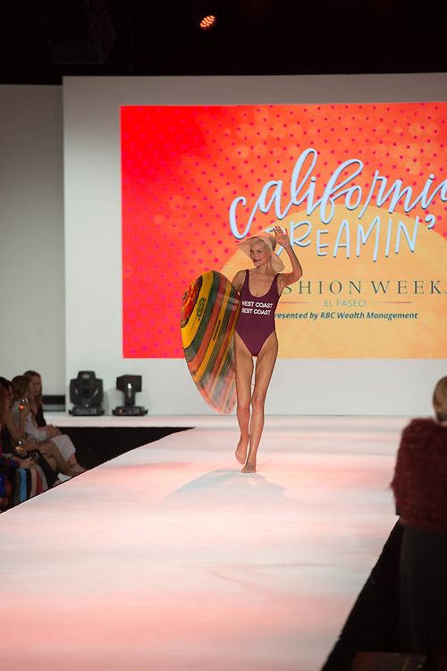 2018 Fashion Week El Paseo, in Palm Desert, California. Fashion week kicks off in the desert with the opening night theme of California Dreamin' featuring designers Michael Costello, Trina Turk, Mr. Turk and Ali Rahimi for Mon Atelier. Photos by Tiffany L. Clark
