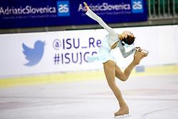 Hwi CHOI of South Korea at ISU Junior Grand Prix of Figure Skating Ljubljana Cup 2014 on August 29, 2014 in Hala Tivoli, Ljubljana, Slovenia. Photo by Matic Klansek Velej / Sportida
