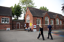 05/05/2011. Voters today went to the polls in Maidstone, Kent, to vote in the referendum for reform in the voting system known as AV (Alternative Voting). The turnout is expected to be low.