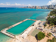 Natatorium, Waikiki, Honolulu, Oahu, Hawaii