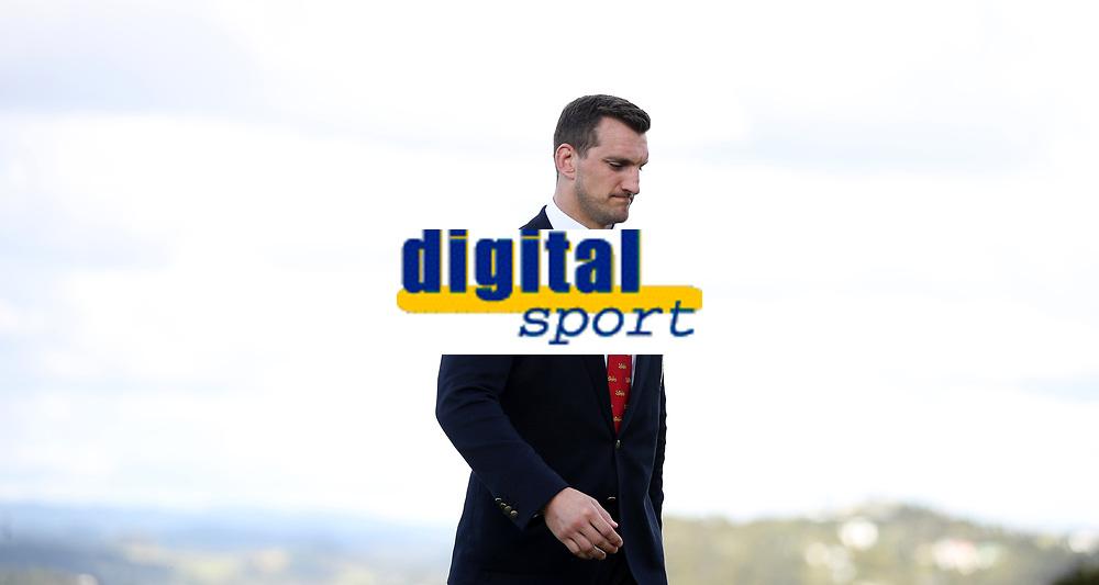 Rugby Union - 2017 British & Irish Lions Tour of New Zealand - British & Irish Lions Visit To Waitangi<br /> <br /> Sam Warburton of the Lions pictured in front of the Bay of Plenty after the British & Irish Lions Maori Welcome at Waitangi Treaty Grounds  in Waitangi, New Zealand. <br /> <br /> COLORSPORT/LYNNE CAMERON