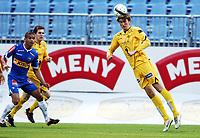 Fotball, 16. september 2012 ,  Adeccoligaen , 1. divisjon<br /> Sandefjord - Bodø/Glimt 2-1<br /> Martin Pedersen , Glimt<br /> Kamal Saaliti , Sandefjord og Thomas Jakobsen , Glimt (til v)