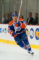 KELOWNA, CANADA - OCTOBER 2: Nail Yakupov #10 of the Edmonton Oilers skates against the Los Angeles Kings on October 2, 2016 at Kal Tire Place in Vernon, British Columbia, Canada.  (Photo by Marissa Baecker/Shoot the Breeze)  *** Local Caption *** Nail Yakupov;