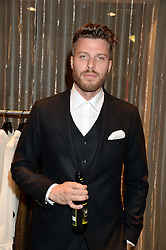 RICK EDWARDS at the opening of the Tiger of Sweden Store, 210 Piccadilly, London on 3rd October 2013.