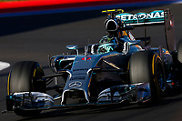 ROSBERG Nico (Ger) Mercedes Gp Mgp W05 Action  during the 2014 Formula One World Championship, Russia Grand Prix from October 9th to 12th 2014 in Sotchi, Russia. Photo Florent Gooden / DPPI.