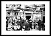 One of the most prominent Irish leaders, Sean Lemass, waves to show his support. Historical pictures of Ireland are the perfect gift idea for any Irish who is proud of their country.