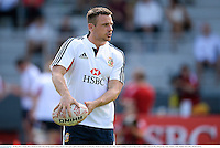 30 May 2013; Tommy Bowe, British & Irish Lions, during squad training ahead of their game against Barbarian FC on Saturday. British & Irish Lions Tour 2013, Squad Training, Aberdeen Sports Ground, Aberdeen, Hong Kong, China. Picture credit: Stephen McCarthy / SPORTSFILE