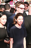 Do-yeon Jeon, Nicolas Winding Refn,  Sofia Coppola at the Palme d'Or  Closing Awards Ceremony red carpet at the 67th Cannes Film Festival France. Saturday 24th May 2014 in Cannes Film Festival, France.