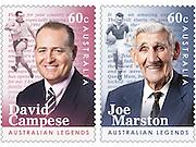 David Campese and Joe Marston AusPost Stamps
