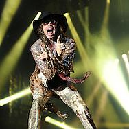 Aerosmith Steven Tyler <br /> Live at Donnington <br /> Pix Dave Nelson