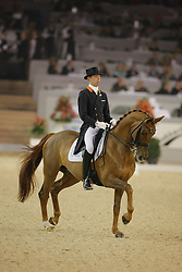 Minderhoud Hans Peter - Exquis Nadine<br /> CDI-W Mechelen 2008<br /> Photo © Dirk Caremans