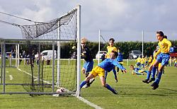 30 Sept 2017. Stade Portel, Pas de Calais, France.<br /> US Montreuil U13a v Portel. <br /> Montreuil perdu 2-11.  <br /> Photo©; Charlie Varley/varleypix.com