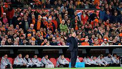10-10-2019 NED: Netherlands - Northern Ireland, Rotterdam<br /> UEFA Qualifying round Group C match between Netherlands and Northern Ireland at De Kuip in Rotterdam / Coach Ronald Koeman of the Netherlands