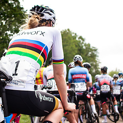 WIJSTER (NED) June 19: <br /> CYCLING <br /> Dutch Nationals Road WOMEN up and around the Col du VAM<br /> Anna van der Bruggen her last National championship as riders