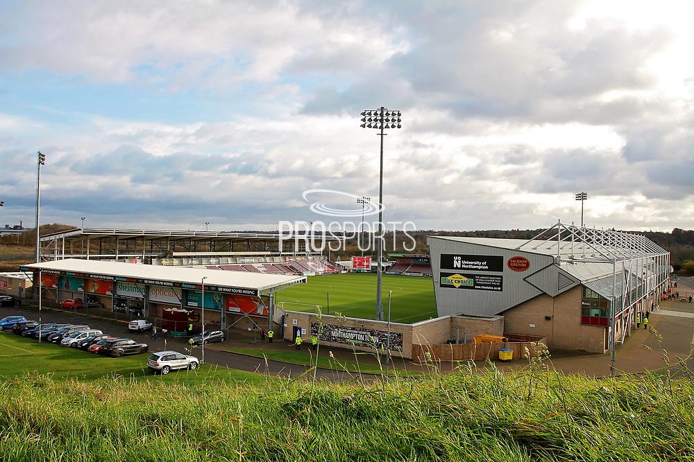 A stadium shot before the EFL Sky Bet League 1 match between Northampton Town and Bury at Sixfields Stadium, Northampton, England on 25 November 2017. Photo by Nigel Cole.
