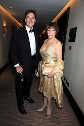 ESTHER RANTZEN and MICHAEL BOWEN at the 2008 Costa Book Awards held at the Intercontinental Hotel, Hamilton Place, London on 27th January 2009.