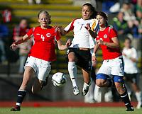Fotball<br /> treningskamp landskamp2006 <br /> 25.05.2006<br /> norge v Tyskland 0-0<br /> Foto: Richard Brevik - Digitalsport<br /> <br /> fatmire bajramaj - Germany girls 19<br /> marita lund - Norge j19