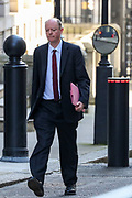 Chris Whitty, Chief Medical Officer (CMO) for England, the UK government's Chief Medical Adviser arriving in Downing Street, London on Tuesday, March 24, 2020 - for a Cabinet meeting, the day after Prime Minister Boris Johnson put the UK in lockdown to help curb the spread of the coronavirus. (Photo/Vudi Xhymshiti)