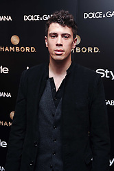 TOBY KEBBELL at a party hosted by InStyle to celebrate the iconic glamour of Dolce & Gabbana held at D&G, 6 Old Bond Street, London on 3rd November 2010.