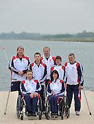 Eton, United Kingdom.  Para Olympic Canoe Squard, 2012 GB Canoeing Training, Dorney Lake. Wednesday  02/05/2012  [Mandatory Credit; Peter Spurrier/Intersport-images]