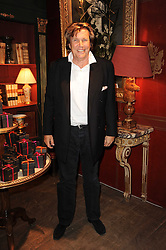 THEO FENNELL at an exclusive viewing of Martyn Lawrence Bullard's furniture at Guinevere Antiques, 578 King's Road, London on 27th September 2010.