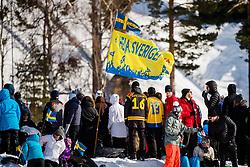 March 16, 2018 - Falun, SVERIGE - 180316 Publik under Svenska Skidspelen den 16 mars 2018 i Falun  (Credit Image: © Simon HastegRd/Bildbyran via ZUMA Press)