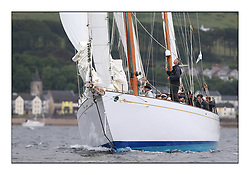 Day one of the Fife Regatta, Round Cumbraes Race.<br /> <br /> Latifa, 8, Mario Pirri, ITA, Bermudan Yawl, Wm Fife 3rd, 1936, Fairlie<br /> <br /> <br /> * The William Fife designed Yachts return to the birthplace of these historic yachts, the Scotland's pre-eminent yacht designer and builder for the 4th Fife Regatta on the Clyde 28th June–5th July 2013<br /> <br /> More information is available on the website: www.fiferegatta.com