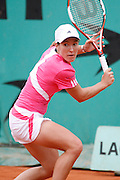 Roland Garros. Paris, France. May 30th 2007..Justine HENIN against Tamira PASZEK.