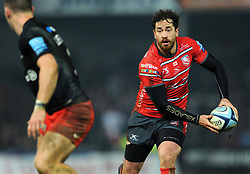 Danny Cipriani of Gloucester Rugby in action- Mandatory by-line: Nizaam Jones/JMP - 22/02/2019 - RUGBY - Kingsholm - Gloucester, England- Gloucester Rugby v Saracens - Gallagher Premiership Rugby