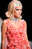 May Andersen walks the runway  at the Christian Dior Cruise Collection 2008 Fashion Show