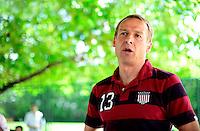 Football Fifa Brazil 2014 World Cup Matchs  / <br /> USA - MEN´S NATIONAL TEAM - BRAZIL TRAINING CAMP -<br /> ( January 2014 - Barra Funda Sao Paulo FC Training Center - Sao Paulo , Brazil ) <br /> Barra Funda Sao Paulo FC Training Center , Jurgen Klinsmann - Coach of Usa , Press Conference