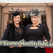 08.10.17.            <br /> Pictured at Limerick Racecourse for the  Keanes Most Stylish Lady competition were, Ceila Holman Lee and Sinead O'Brien. Picture: Alan Place
