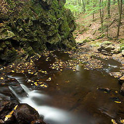 Chesterfield Gorge in Chesterfield, New Hampshire.