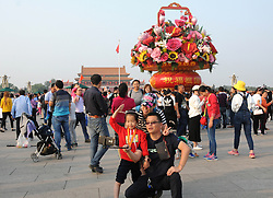October 9, 2018 - Beijing, Beijing, China - Beijing,CHINA-About 11.15 million tourists flock to Beijing during National Day Holiday this year. (Credit Image: © SIPA Asia via ZUMA Wire)