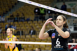 26-11-2015 SLO: Champions League Calcit Ljubljana - VakifBank Istanbul, Ljubljana<br /> Petra Vrhovnik of Calcit Ljubljana<br /> <br /> ***NETHERLANDS ONLY***