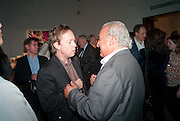 GEORDIE GREIG; SIR PHILIP GREEN, Can we Still Be Friends- by Alexandra Shulman.- Book launch. Sotheby's. London. 28 March 2012.