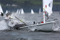 Day 4 NeilPryde Laser National Championships 2014 held at Largs Sailing Club, Scotland from the 10th-17th August.<br /> <br /> 200427, Alex KING<br /> <br /> Image Credit Marc Turner