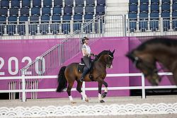 Roos Laurence, BEL, Fil Rouge<br /> Olympic Games Tokyo 2021<br /> © Hippo Foto - Dirk Caremans<br /> 21/07/2021