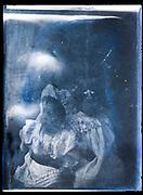extreme destorted portrait of a little children ca 1920s